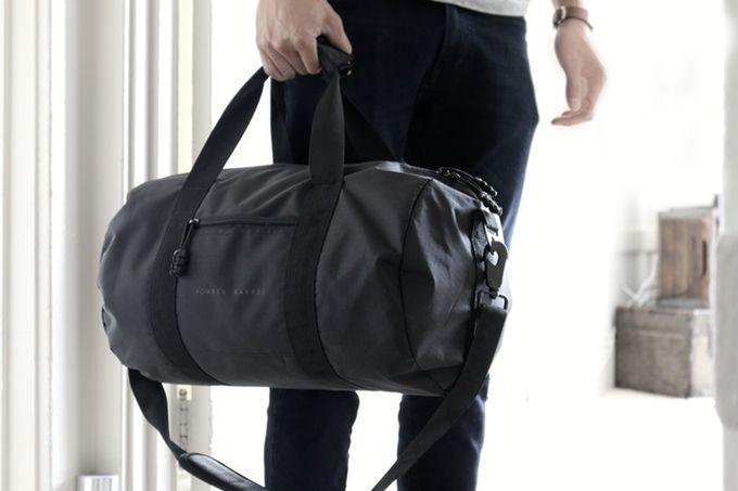 """BOMBERCO.COM - """"Best Damn Duffel Bag"""" by Bomber Barrel — Kickstarter"""