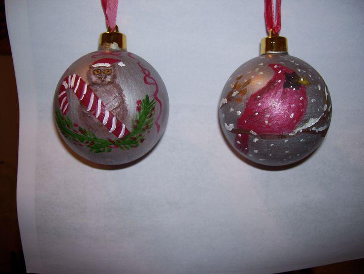 Christmas balls for Helena and Kieran, Nov 2014