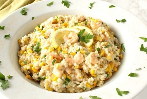 Chicken & Sweetcorn Risotto – Slimming World Recipe – Syn Free