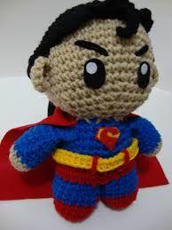 Superman en ganxet.