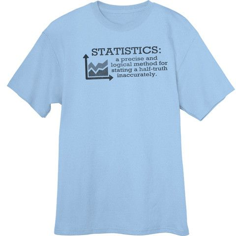Definition of Statistics Funny Novelty T-Shirt - Rogue Attire