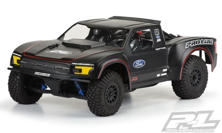 Pro-Line's Ford F-150 Raptor Body for the Axial Yeti SCORE Trophy Truck http://rcnewb.com/pro-lines-ford-f-150-raptor-body-axial-yeti-score-trophy-truck/