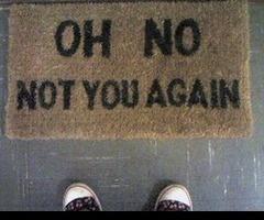 hilarious.:  Welcome Mats, Houses, Back Doors, Stuff, By Mats, Funny Commercial, Front Doors, Doors Mats, Funnies