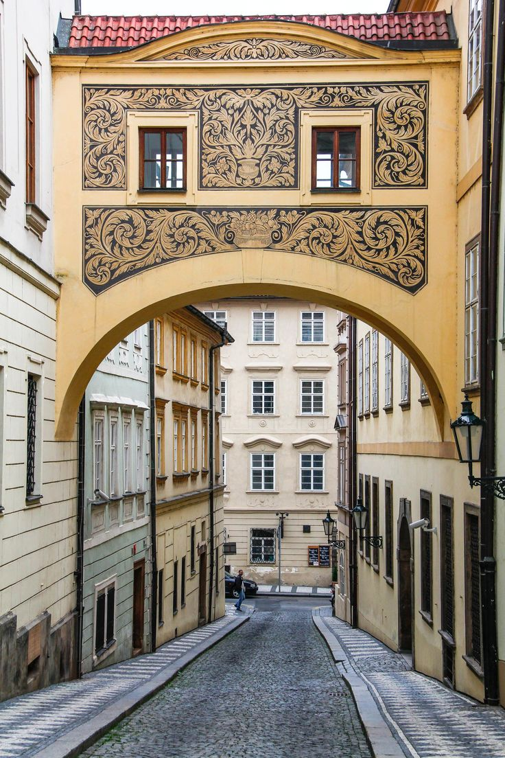 Strana district Prague Czech Rep 11