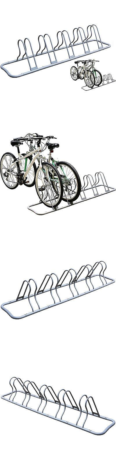 Bicycle Stands and Storage 158997: Bike Parking Rack Adjustable 5 Bicycle Floor Stand Holder Outdoor Garage Storage -> BUY IT NOW ONLY: $42.83 on eBay!