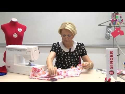 Kendi Modanı Yarat - Çocuk Elbisesi Yapımı - YouTube