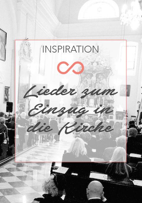 Ihr sucht nach schönen Liedern zum Einzug in die Kirche? Wir haben unsere Top 10 zusammengefasst! #hochzeit #heirat #lieder #kirche