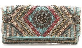 Moyna Fold Over Coin Clutch | vintage inspired fashion | purses and handbags