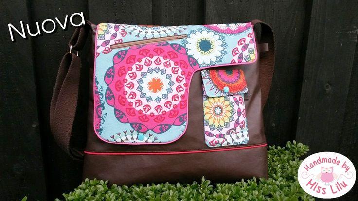 Tasche Nuova von Handmade by Miss Lilu Ebook hier:http://de.dawanda.com/product/95794591-ebook-nuova