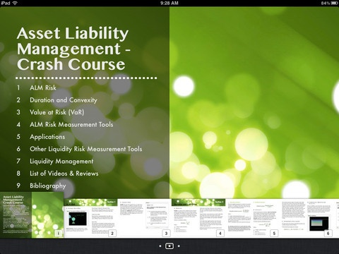 Understanding Asset Liability Management (ALM) – Now available on the iPad