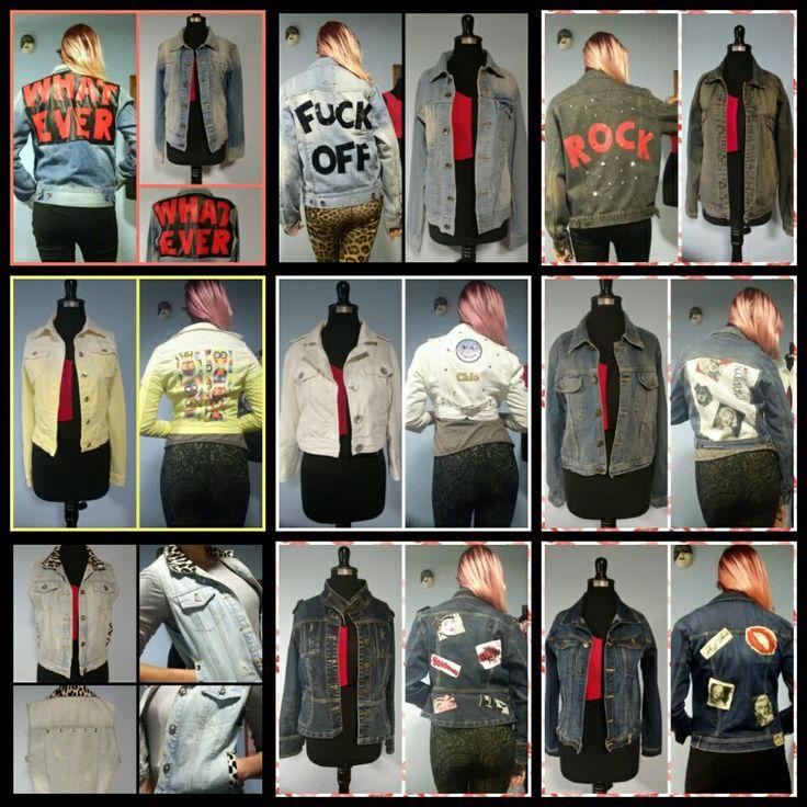 chaquetas customizadas, diseños únicos.  Full estilo y tendencia.  consultas por interno o al insta @silvanaaltacostura #moda #silva salta costura #jacket #customizado #reciclado #chaquetas #estilo #tendencia