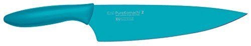 Kai-Pure-Komachi-2-Cuchillo-de-cocinero-color-azul-0