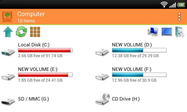 WiFi PC File Explorer v1.5.21.b.58 Pro apk Is Here ! [Latest]