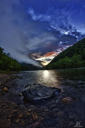 New River Gorge, West Virginia. Glade Creek campground; photo by Graham Brannon http://www.wvyourway.com/west_virginia/tourism.aspx