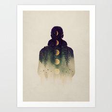 Art Print featuring Night Air by Enkel Dika