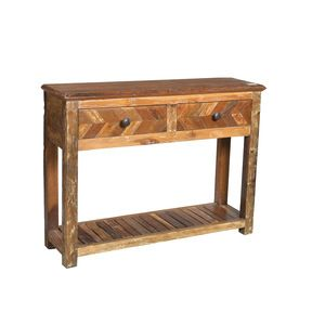 CONSOLE TABLE W/ DRAWERS (JL053)