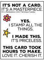It's A Masterpiece stamp set.