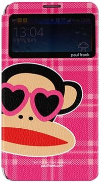 For Samsung Paul Frank CheckWindow Pink