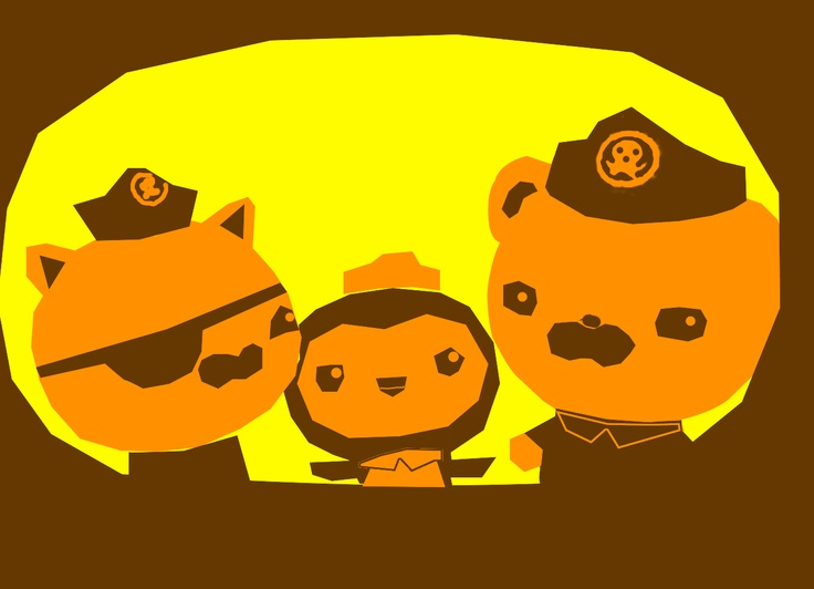 42 best halloween pumpkins images on pinterest carved pumpkins octonauts halloween pumpkin template yellow is fully cut out orange is skinned brown pronofoot35fo Gallery