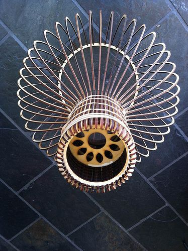 Completed assembly of laser cut lamp   Flickr - Photo Sharing!