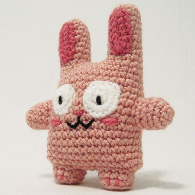 Amigurumi Rabbit Tutorial : Amigurumi bunny free crochet pattern tutorial