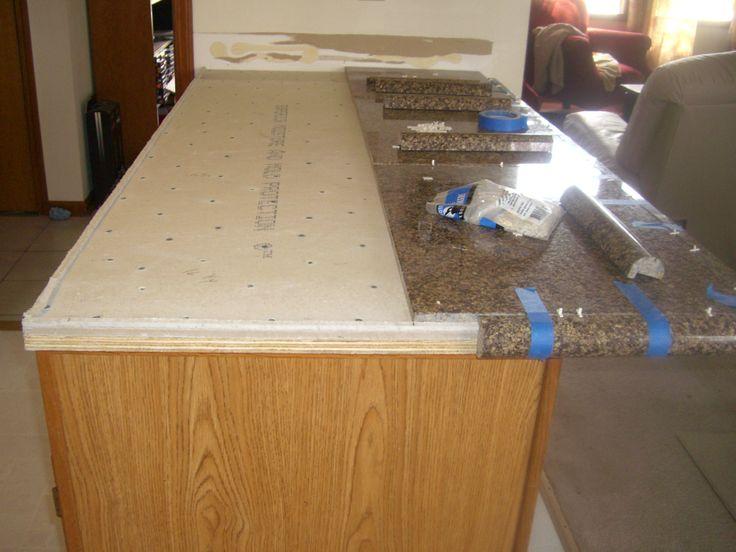 Granite Tile Kitchen Countertops best 25+ granite tile countertops ideas on pinterest | grey