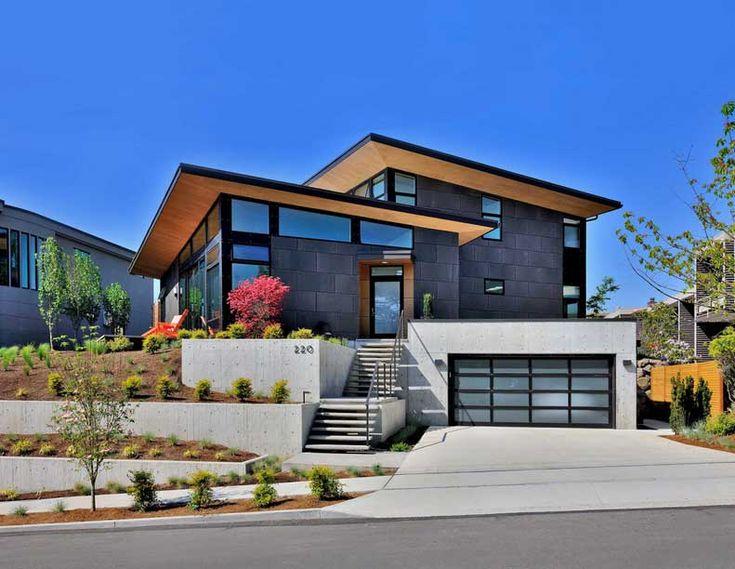 26 best front yard images on pinterest modern homes for Century custom homes