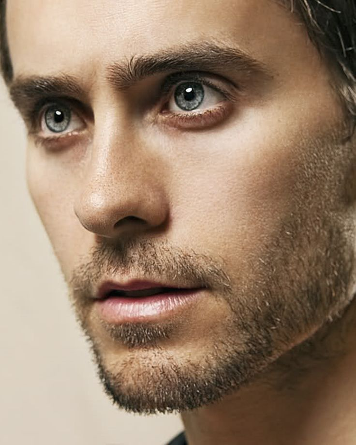 Jared Leto--- it's his eyes