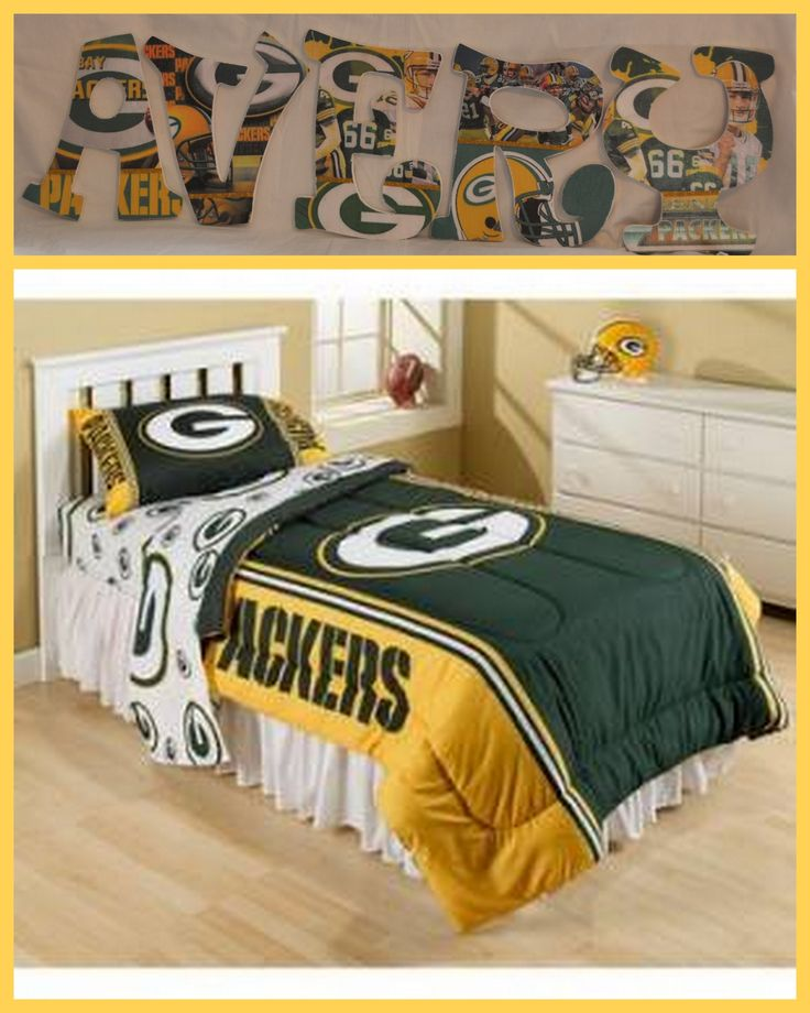 Green Bay Packers Bed In A Bag Set   For Loganu0027s Room   (find A Cheaper Or  Scaled Down Set? Thatu0027s A Little Spendy)