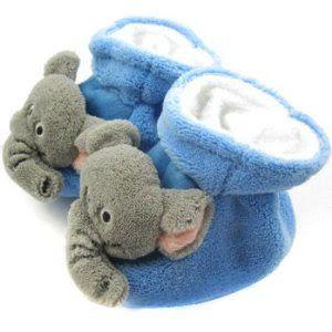 Sepatu Bayi Oshkosh - KF Bayi Hewan Booties Sole Lembut, untuk 3-12 Bulan - Gajah | Pusat Sepatu Bayi Terbesar dan Terlengkap Se indonesia