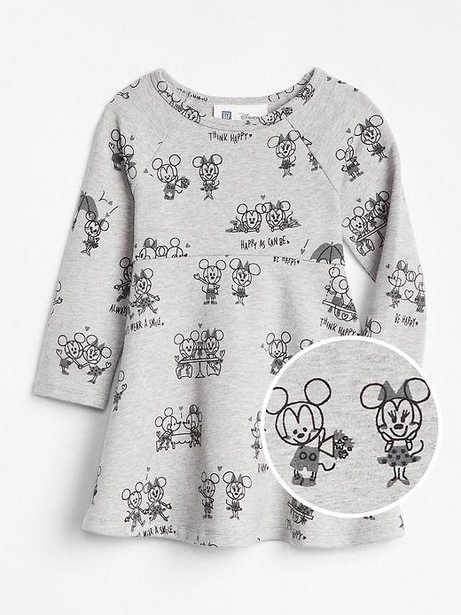 f7c39f1e04c9 Gap Baby Babygap   Disney Minnie Mouse And Mickey Mouse Dress Multi Dark  Wash