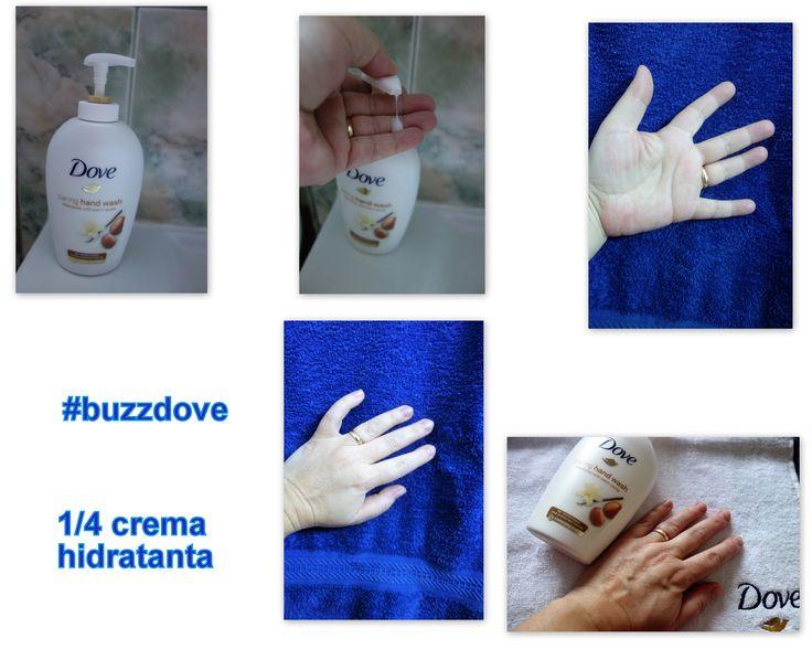 Noul sapun lichid Dove cu 1/4 crema hidratanta a fost o surpriza placuta si un rasfat pentru mainile mele.