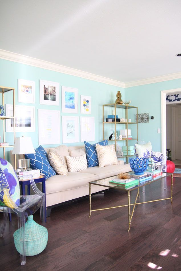 Best 25 Aqua Living Rooms Ideas On Pinterest Living