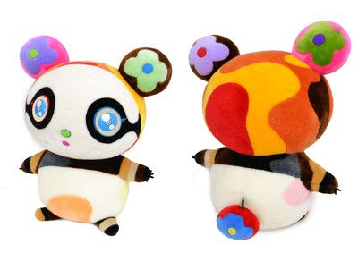 Ltd Edition Louis Vuiiton Murakami stuffed panda, hey, it's ONLY $18,000.00