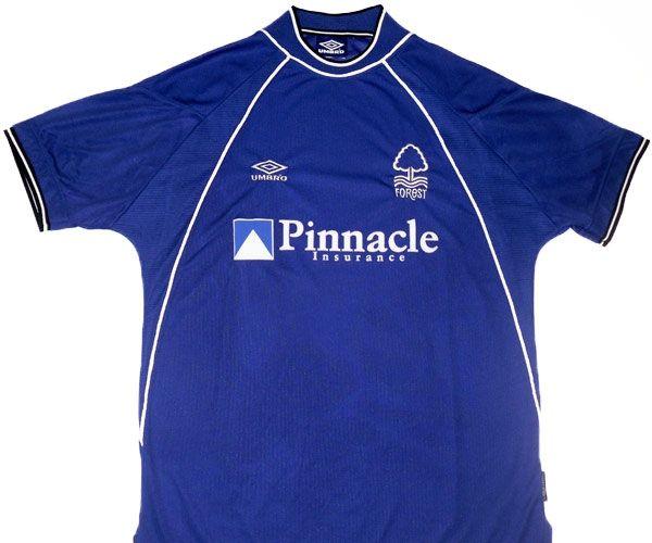 1999-01 Nottingham Forest Umbro Away Shirt