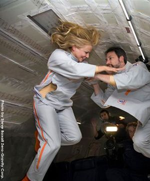 The 2suit is a garment designed to facilitate effortless intimacy in weightless environments such as outer space, or on planets with low gravity. The 2suit is equipped to fasten to a stable surface. The roominess within the garment is adjustable from within. It also is lined with inner harnesses for optional use that can regulate the garment to adjust proximity of various points of the bodies to one another. http://invaderxan.tumblr.com/post/172282621