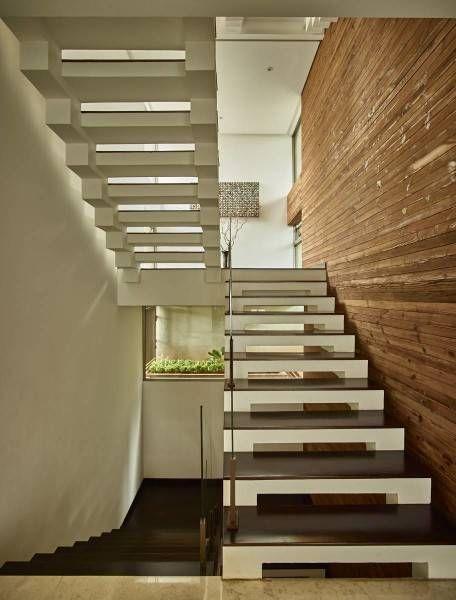 Stairs in Kembang Murni House - arsitag.com
