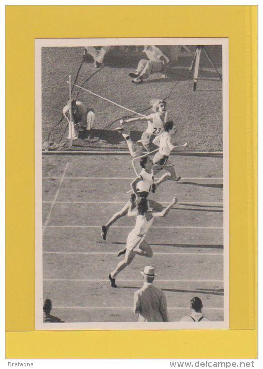 image jeux olympiques de 1932 - Décision préliminaire dans le 100 mètres féminin