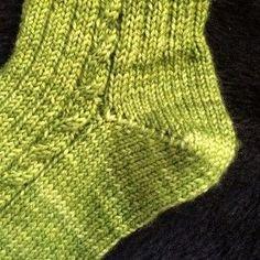 [vidéo] Tricoter un talon de chaussette en rangs raccourcis