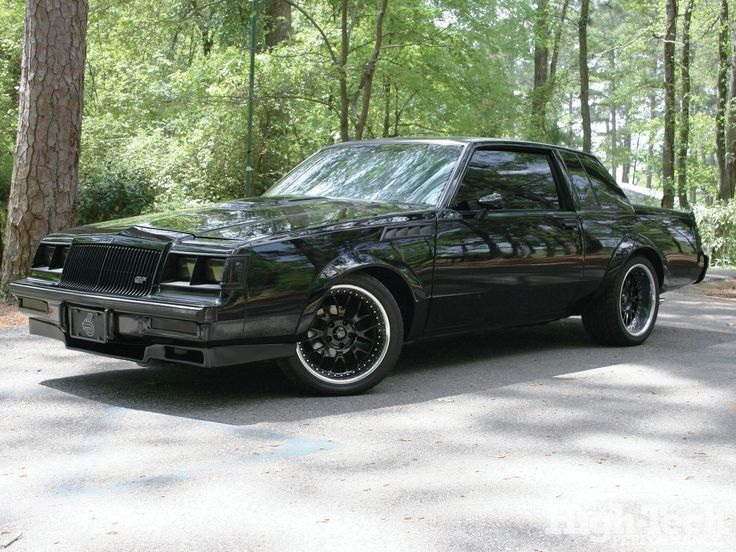 1987 Buick Grand National - Black Reign
