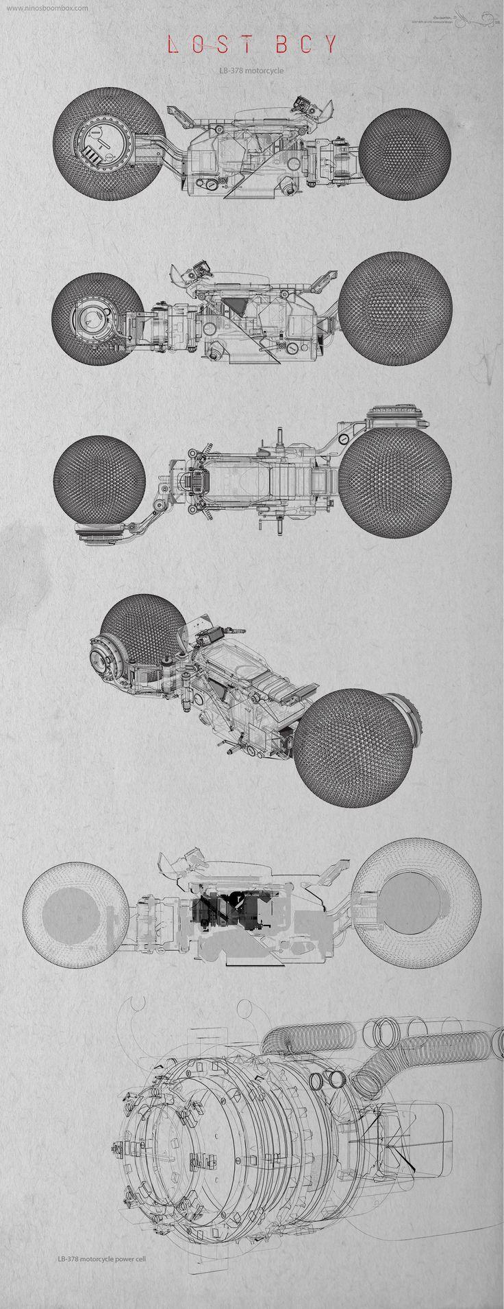 ArtStation - LOST BOY bike development, patrick (ninosboombox ) razo