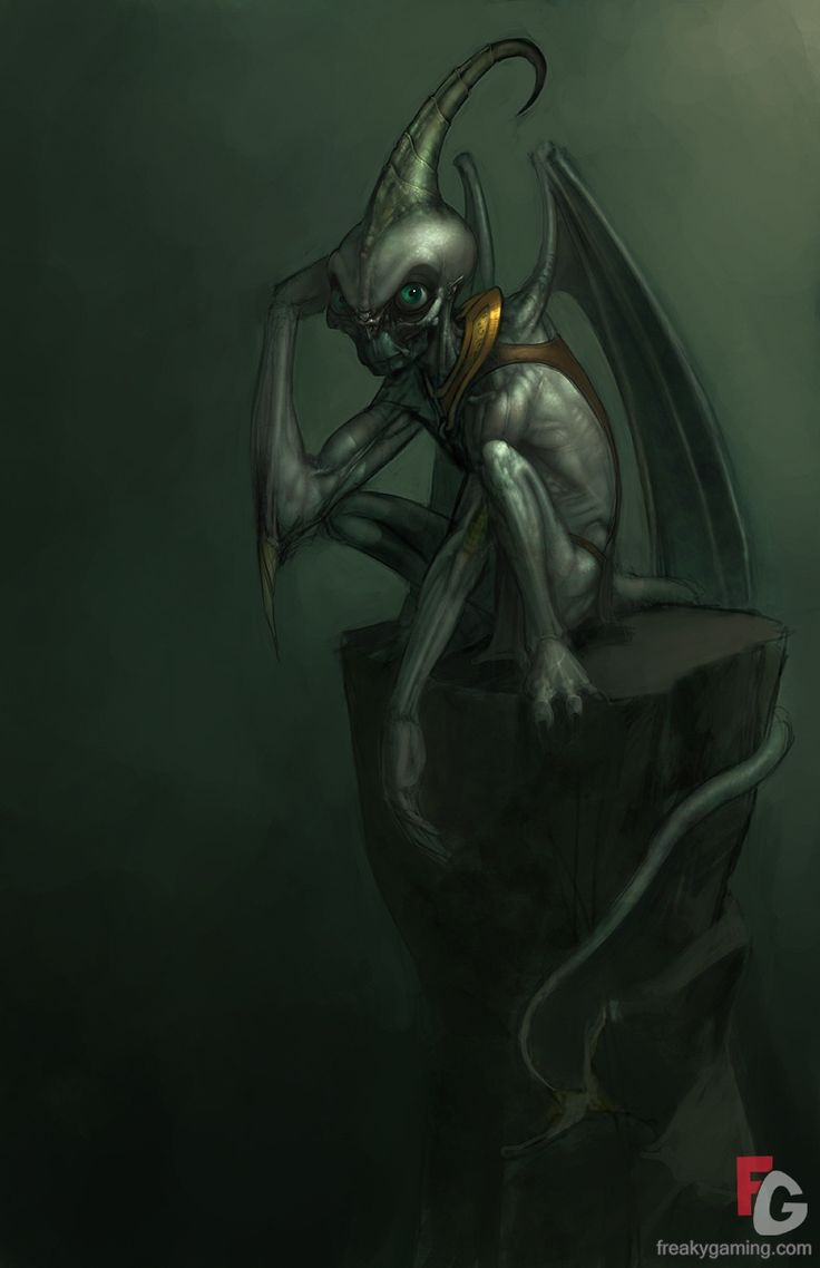 Demon | Neverwinter Nights 2 Green Demon Art | Gallery at FreakyGaming