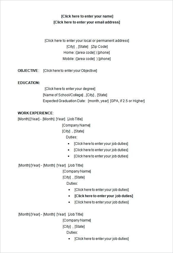 413 free resume templates freeresumetemplates resume templates