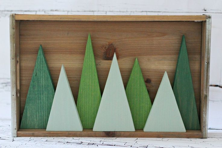 Modern Triangle Tree Forest