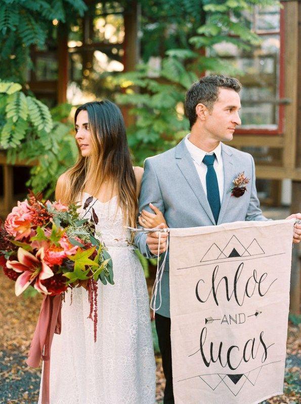 Herbst Juwel Getönten Rustikalen Ranch Hochzeit Inspiration – Und Braut