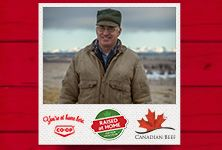 Your local Co-op is proud to support local ranchers. Meet three ranch families from Western Canada in Raised at Home, a three-part series from Co-op and Canada Beef. See how Co-op works with producers to bring quality Western Canadian beef to your table. www.raisedathome.ca/ - Alberta