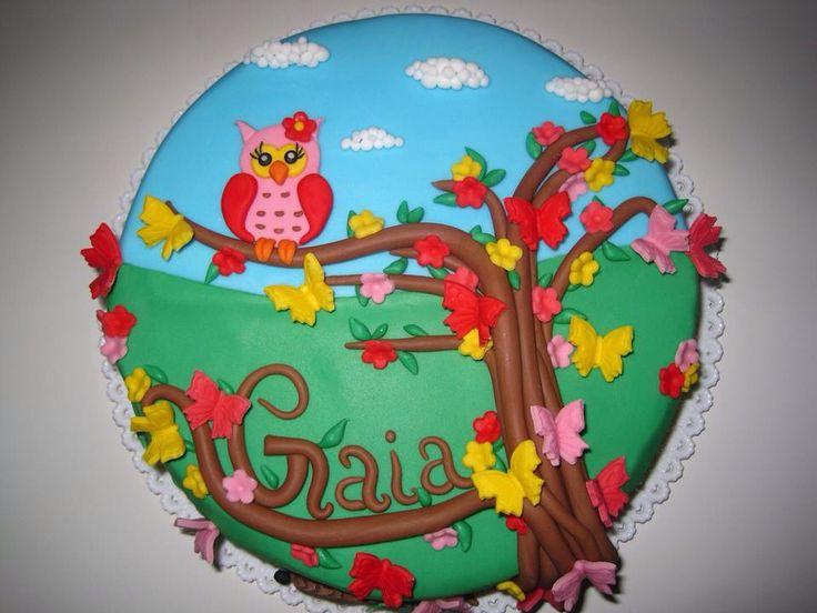 Torta gufo