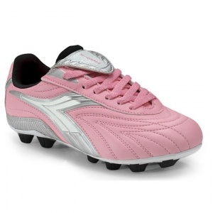SALE - Diadora Furia Soccer Cleats Kids Pink Polyurethane - Was $23.99 - SAVE $9.00. BUY Now - ONLY $14.99