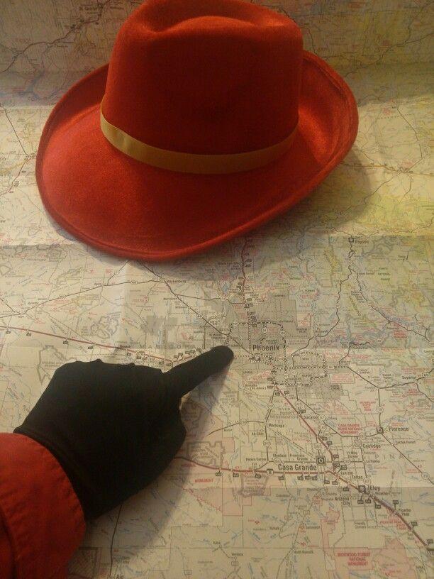 Where in Phoenix is Carmen Sandiego?