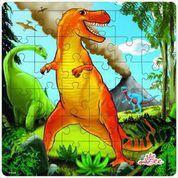Artiwood | Flat Puzzles | T Rex And Friends